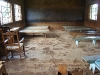 Sunday school room in need of repair