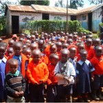 Children from Blessed Hill school